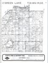 Map Image 007, Green Lake County 1985